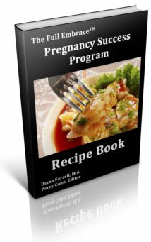Pregnancy Success Program recipe book